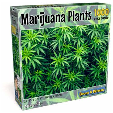 Marijuana Leaves 1000 Piece Jigsaw Puzzle