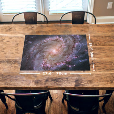 Spiral Galaxy 1000 Piece Jigsaw Puzzle Table Image