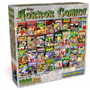 Horror Comic Book Covers