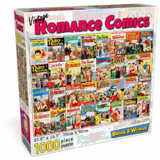 Romance Comic Books Puzzle