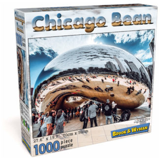Chicago Bean 1000 Piece Jigsaw Puzzle