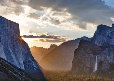 Yosemite Sunrise 1000 Piece Jigsaw Puzzle Image