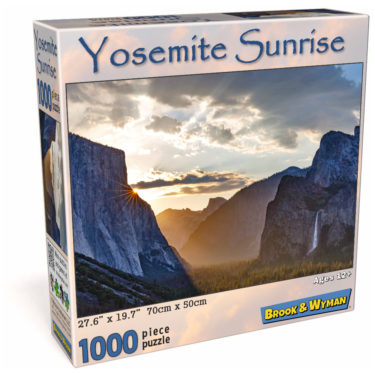 Yosemite Sunrise 1000 Piece Jigsaw Puzzle Box