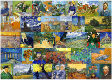 VIncent van Gogh 1000 Piece Jigsaw Puzzle Image