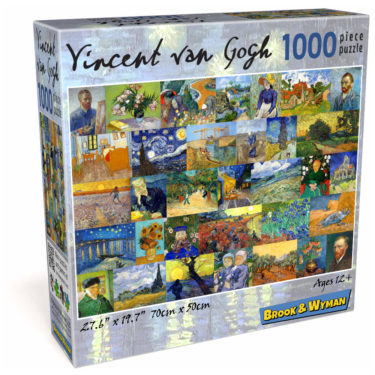 VIncent van Gogh 1000 Piece Jigsaw Puzzle Box