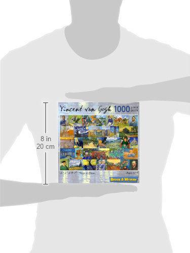 VIncent van Gogh 1000 Piece Jigsaw Puzzle Scale Image