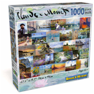 Claude Monet 1000 Piece Jigsaw Puzzle Box