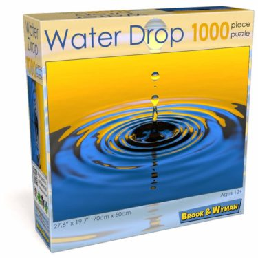 Water Drop 1000 Piece Jigsaw Puzzle