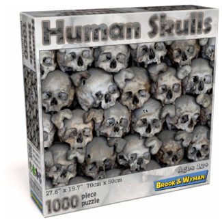 Human Skulls 1000 Piece Jigsaw Puzzle Box