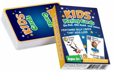 Kids Playing Cards