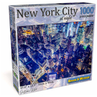 New York City at Night 1000 Piece Jigsaw Puzzle