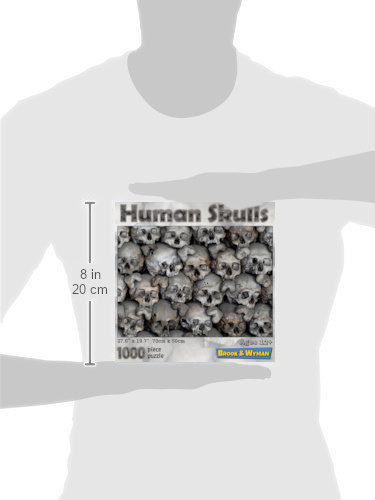Human Skulls 1000 Piece Jigsaw Puzzle Scale Image