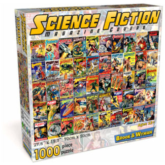 Science Fiction Magazine Covers 1000 Piece Jigsaw Puzzle