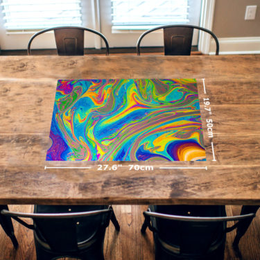 Soap Bubble 1000 Piece Jigsaw Puzzle Table View